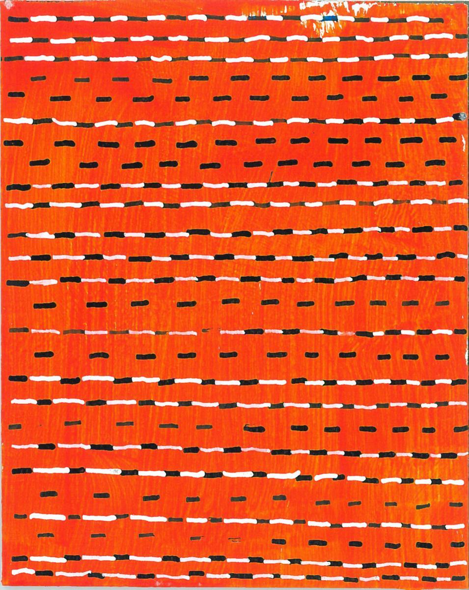 radical warp 4 orange drawing by stella untalan
