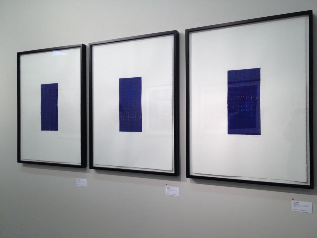 Soundings series, 3 drawings by Stella Untalan