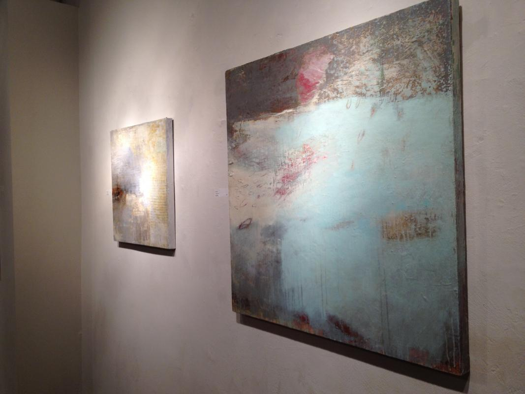 Donna Quinn new paintings at Rosenfeld gallery Old City Philadelphia