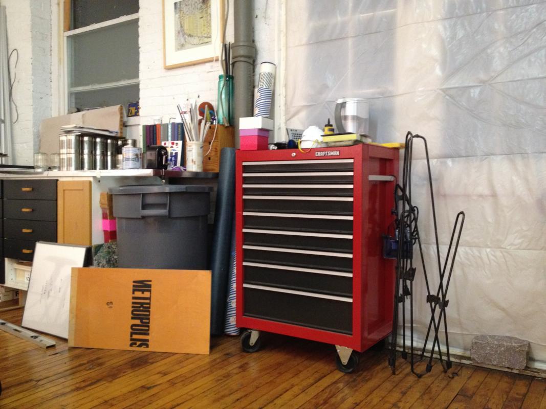 art studio equipment