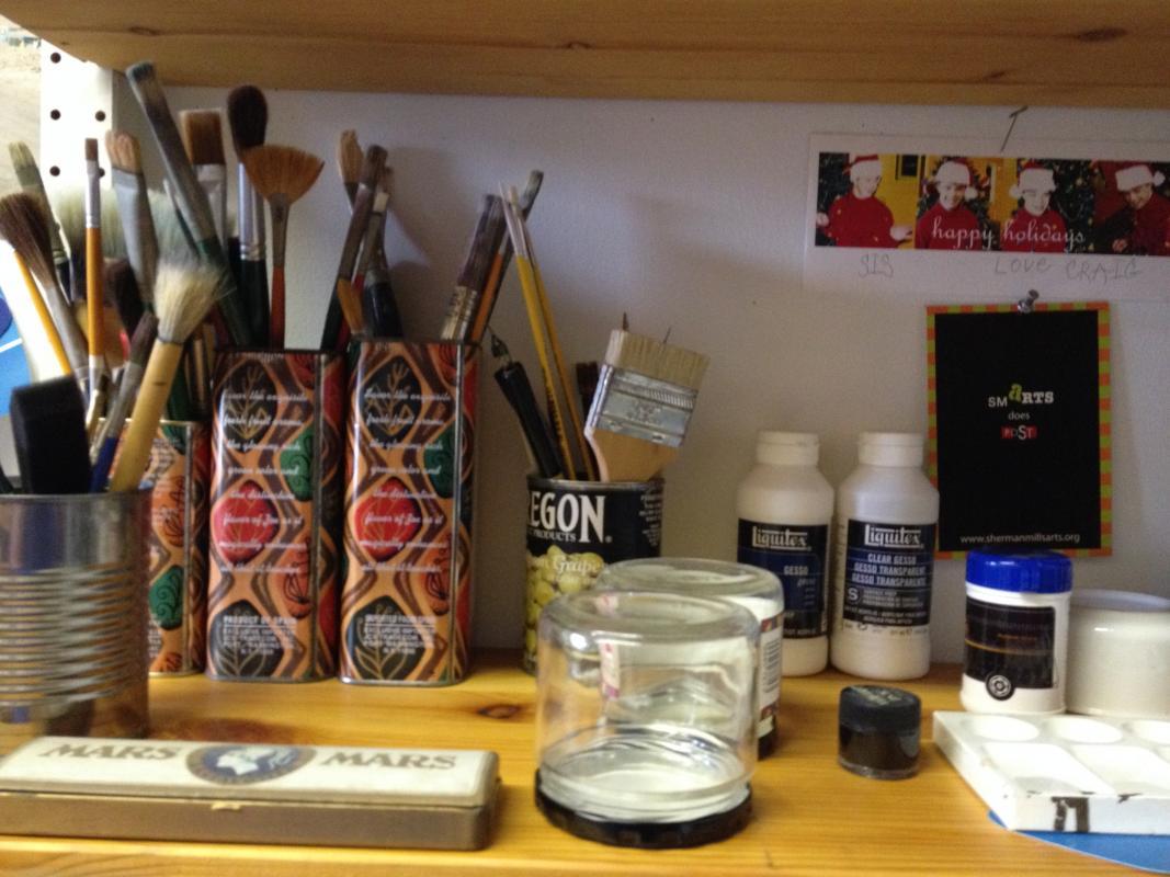 organiation, tools, art tools, art studio, philadelphia
