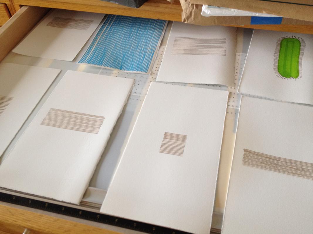 looking in flat files of Stella Untalan