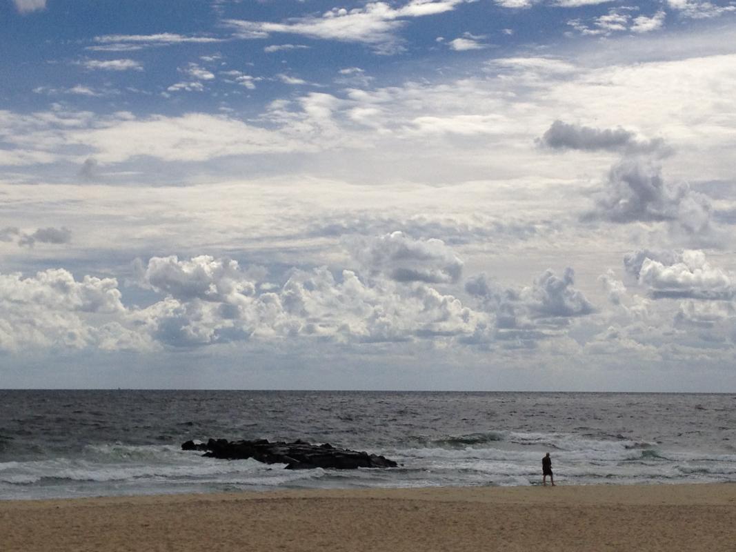 New Jersey coast.