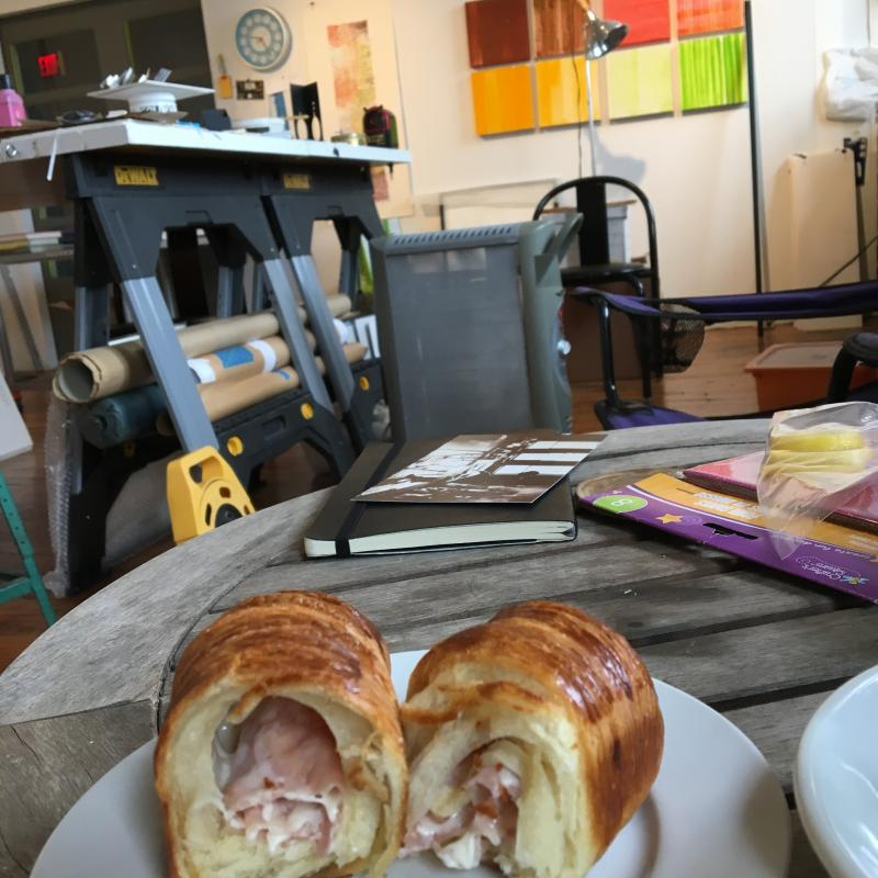 studio breakfast from ICI in old city