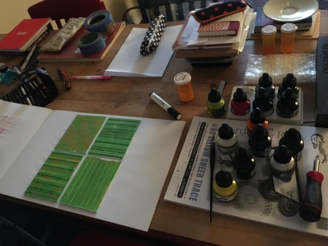 kitchen table studio photo