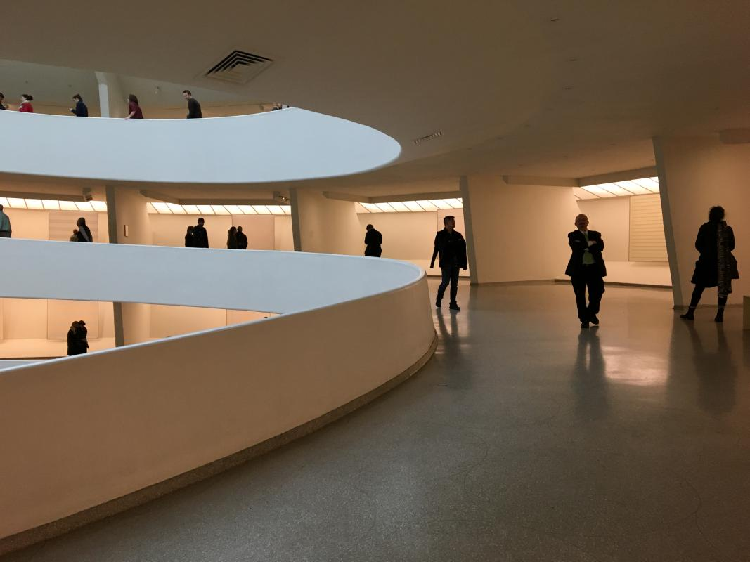 Guggenheim exhibition Agnes Martin