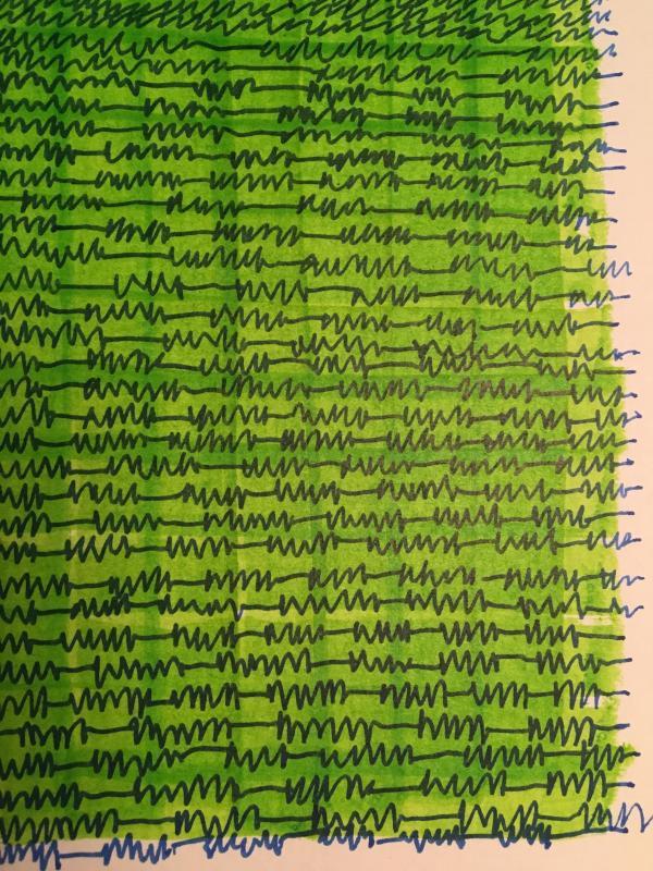 drawing in progress Stella Untalan sketchbook