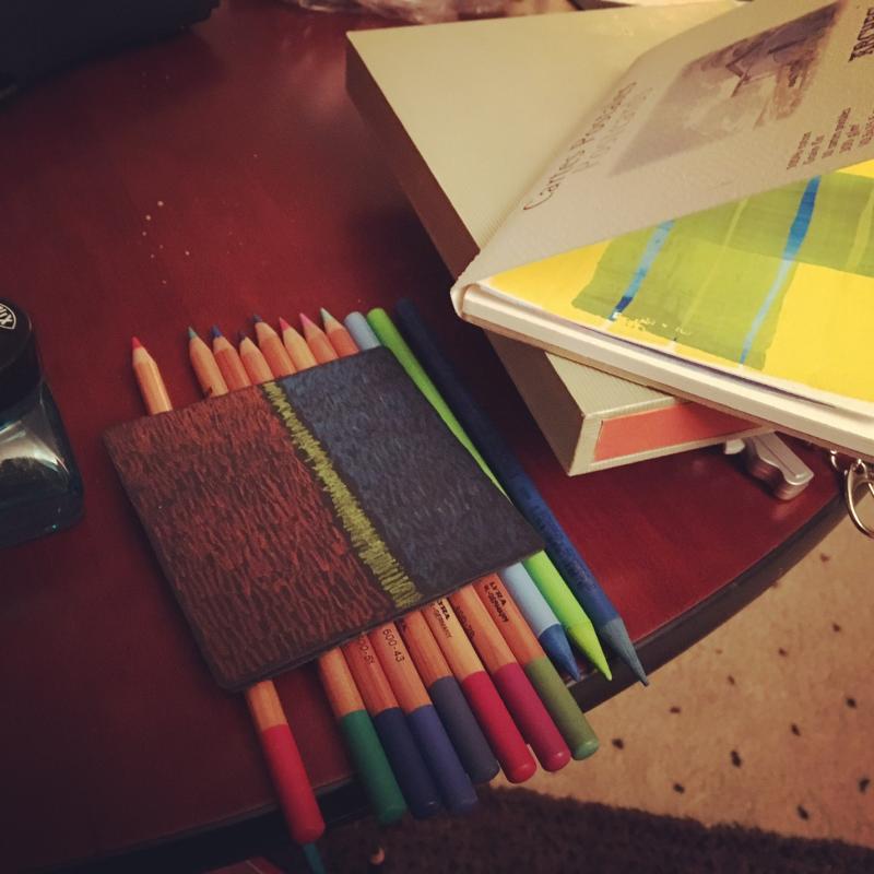 Draw anywhere my travel kit.