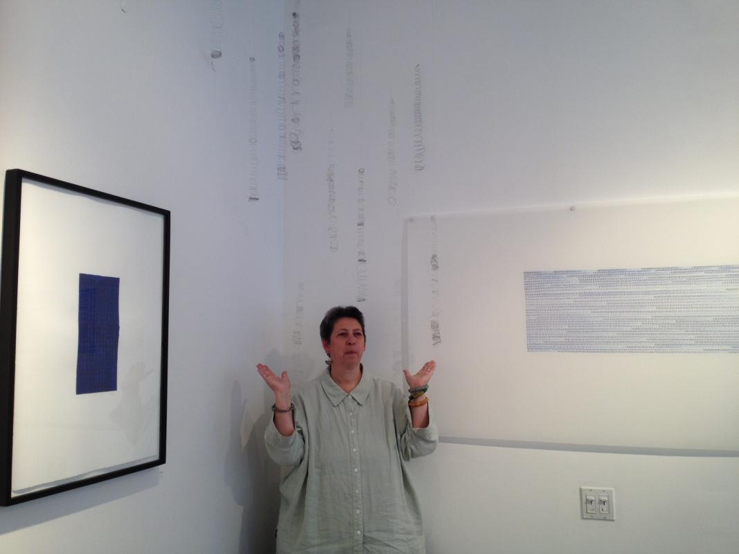 me and soundings at 110 CHURCH gallery