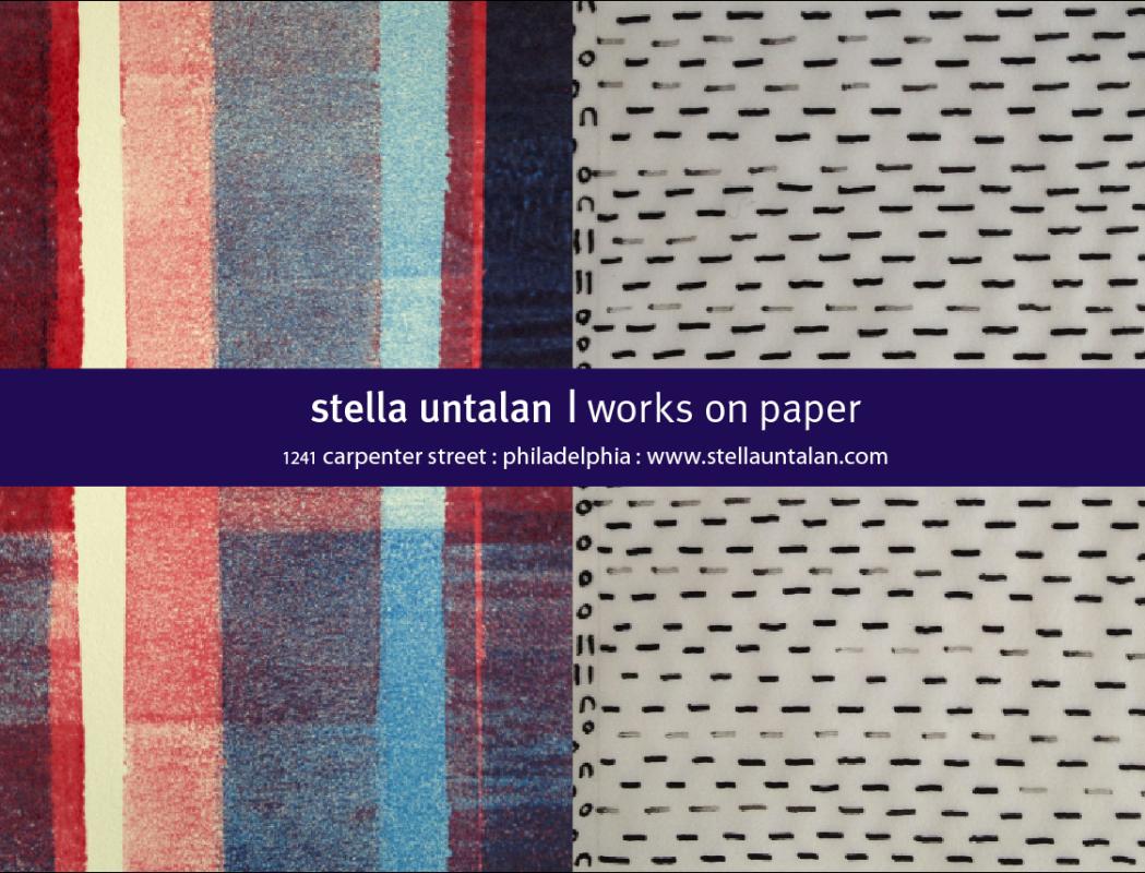 Ad for stella untalan Open Studio for POST2014