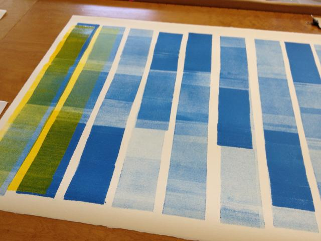 beginning yellow and blue