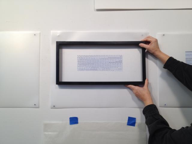 frame fitting art