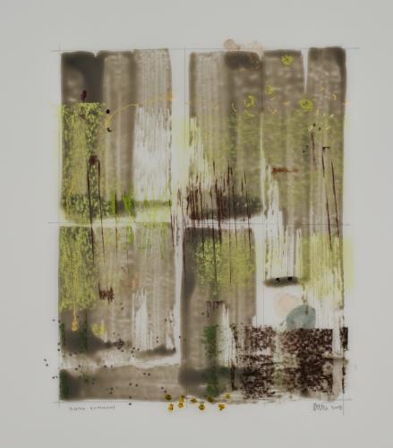 Bark Summons mixed media by Stella Untalan