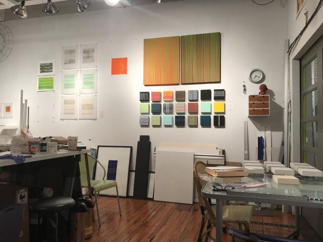 Studio shot, ALLSORTS wall Stella Untalan