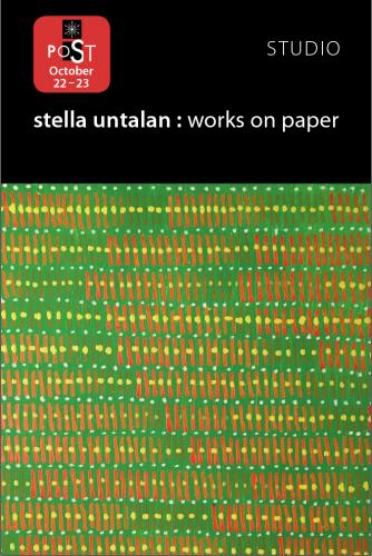 Stella Untalan Open Studio postcard