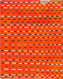 radical warp 4 orange drawing by stella untalan
